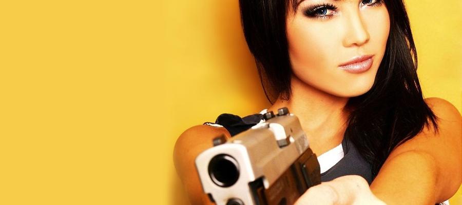 une arme à feu et s'en sortir