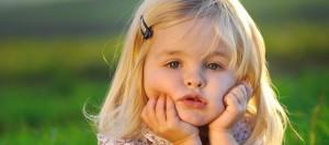une petite fille